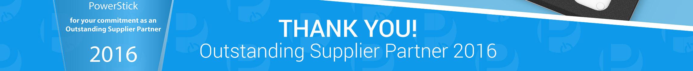 Outstanding Supplier Partner 2016