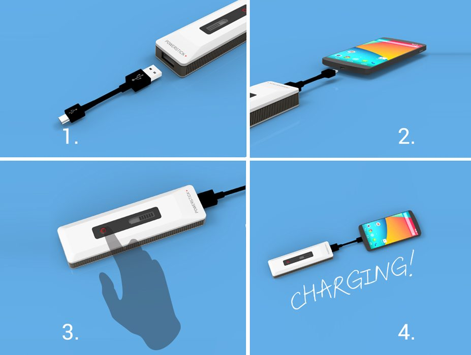 PowerStick+ easy to use