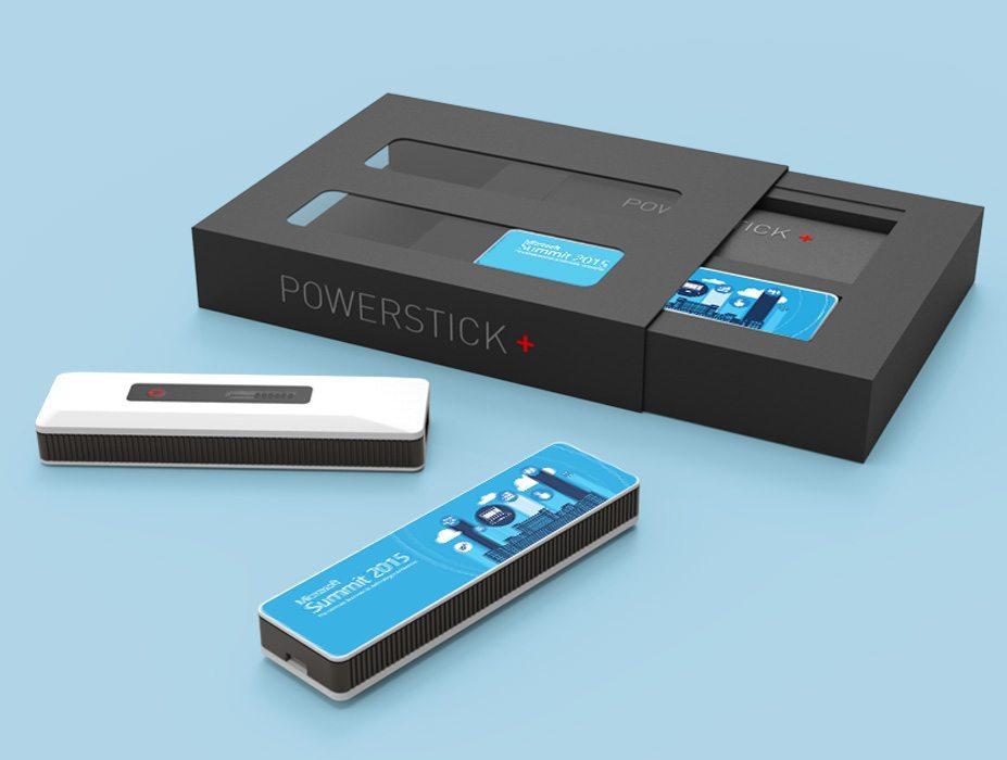 PowerStick+ with corporate branding