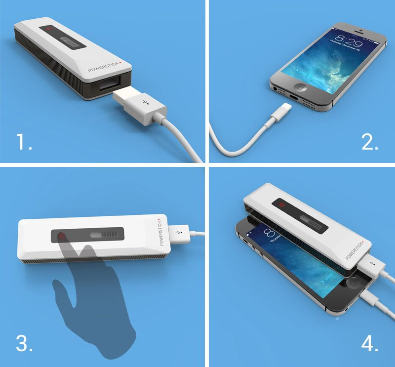 diagram how to charge your iPhone