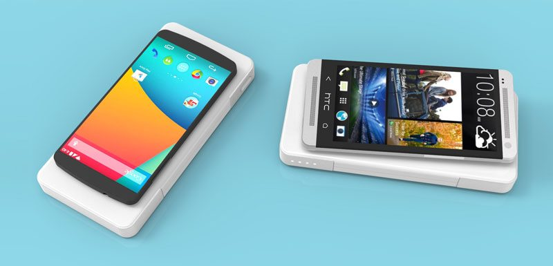 Qi Compatible Nexus and Htc charge wirelessly