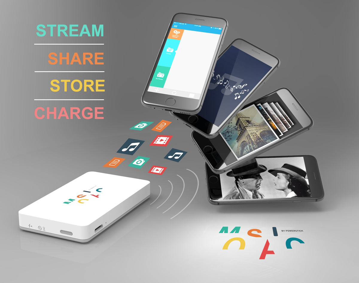 Mosaic: Stream, Share, Store, Charge
