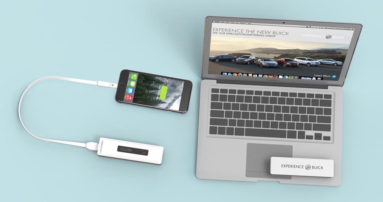PowerStick+ buick computer iphone 6