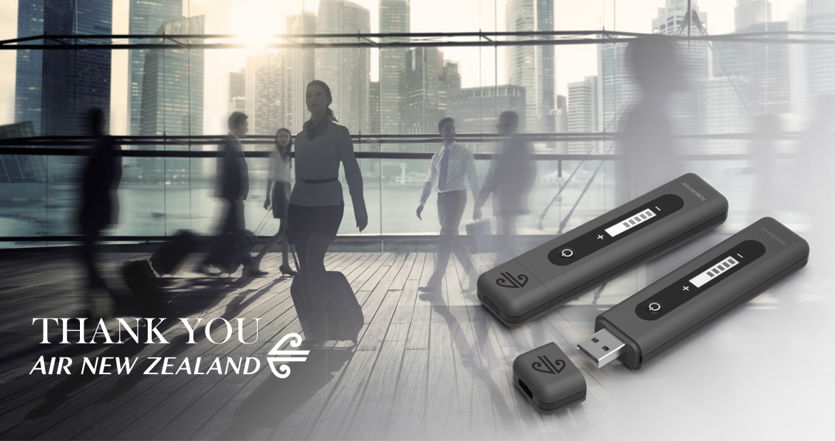 Case Study Gift for Air NewZealand PowerStick
