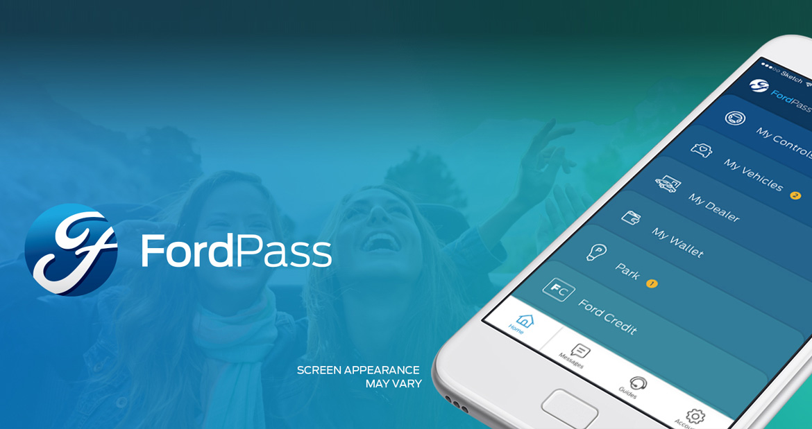 Ford Pass website image