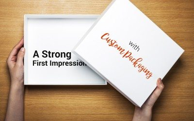 A strong First Impression Custom Packaging