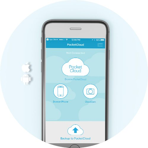 PocketCloud app is easy to use