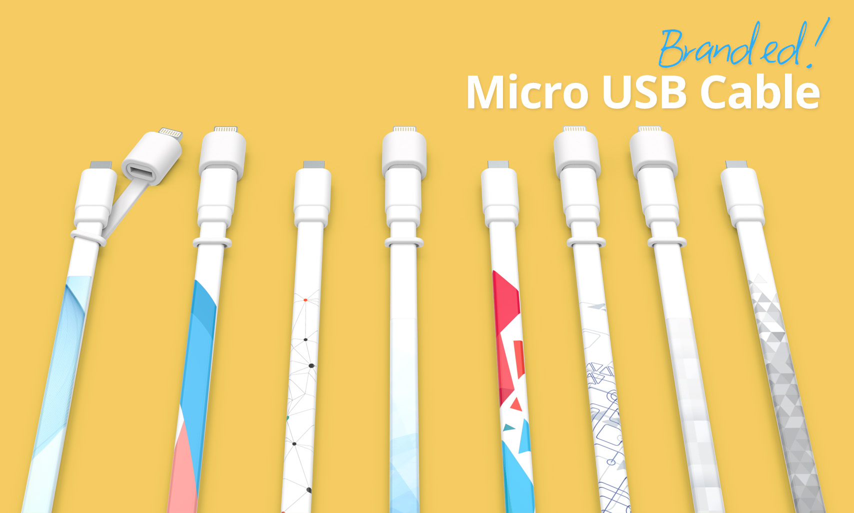 Branded cable designs