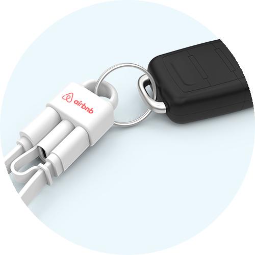 Loop+ keychain
