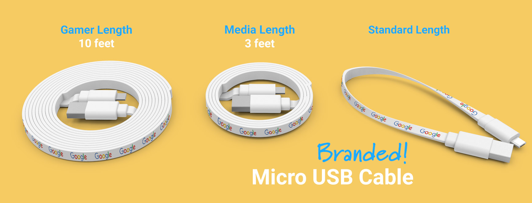 Branded Cable Lengths