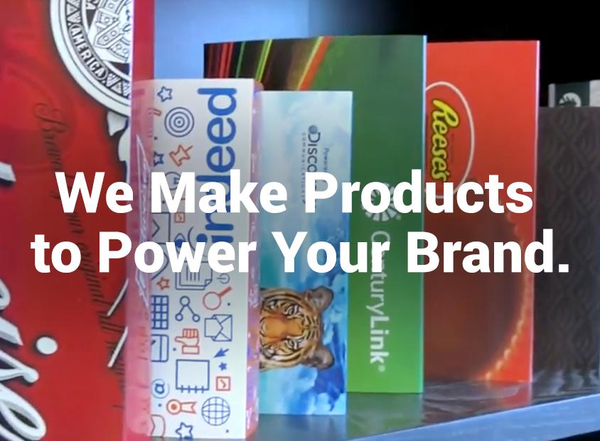 We make products to power your brand