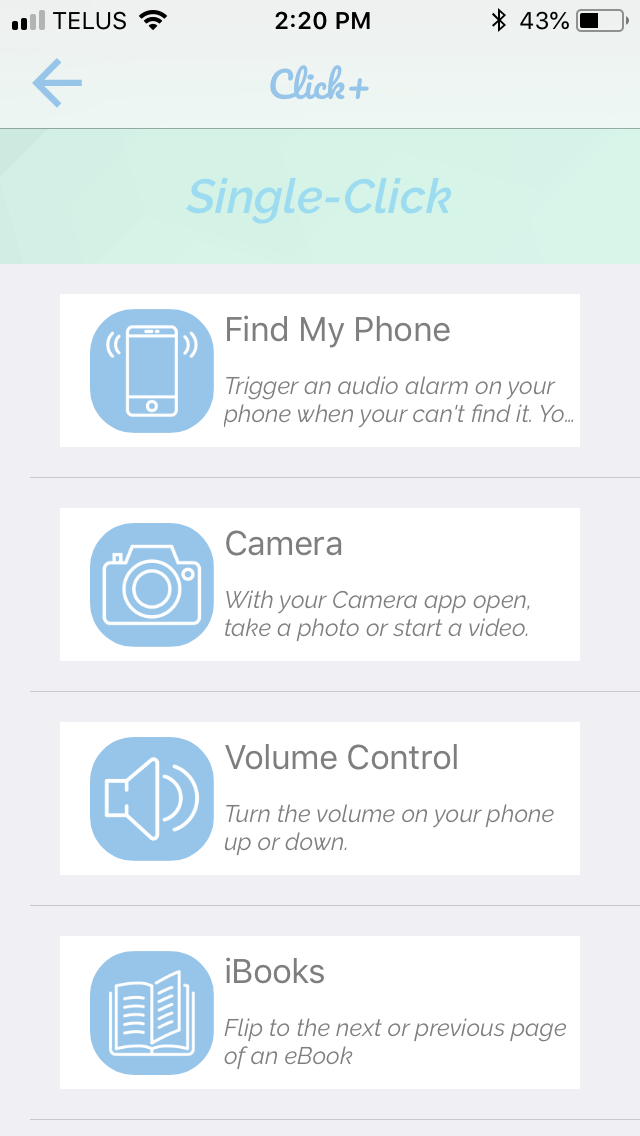 Search Party Explanation App Screen