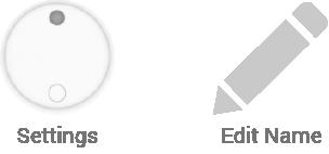 Settings & Edit Icons