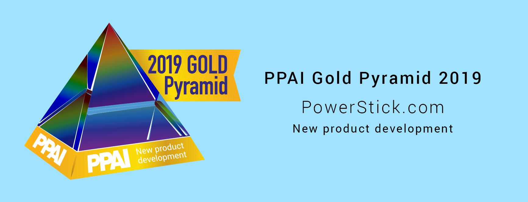 PPAI Gold Pyramid Award 2019