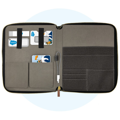 Tech Case & Top Products Kit