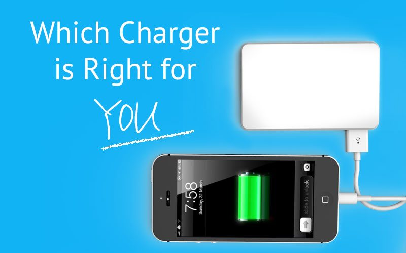 Which Charger is Right for You, PowerJump charging iphone