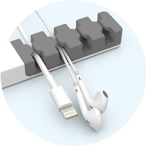 CableCatch cables/headphones closeup