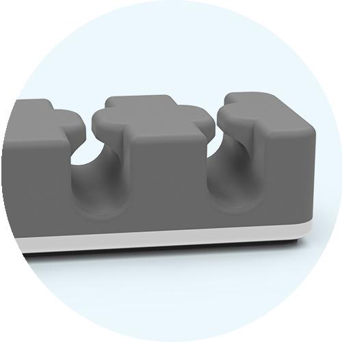 CableCatch flexible silicone closeup