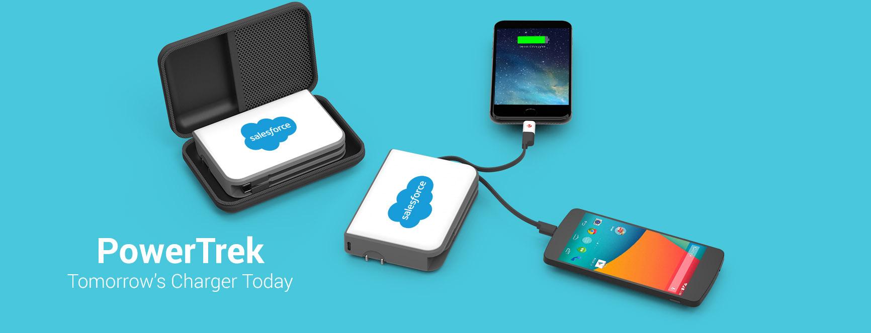 PowerTrek charging multiple devices