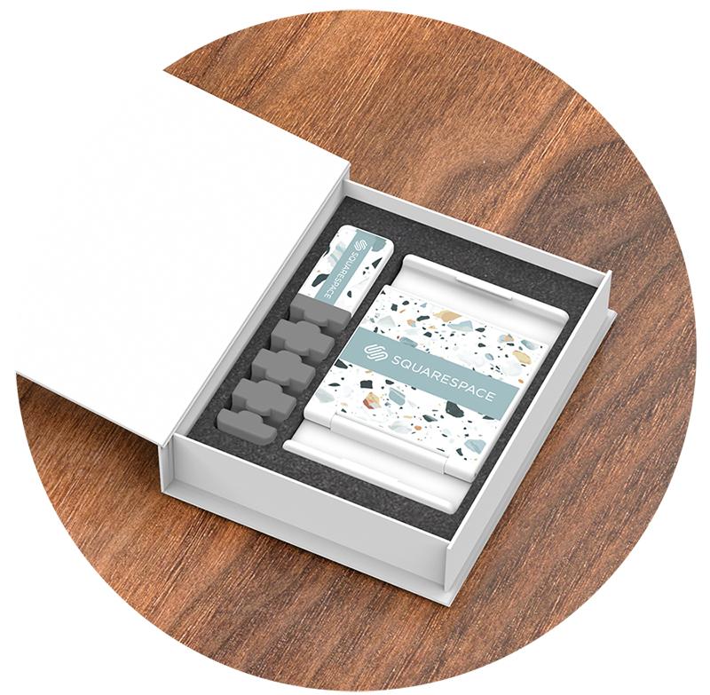 Clutterfree Kit Box Open