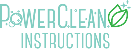 PowerClean Instructions