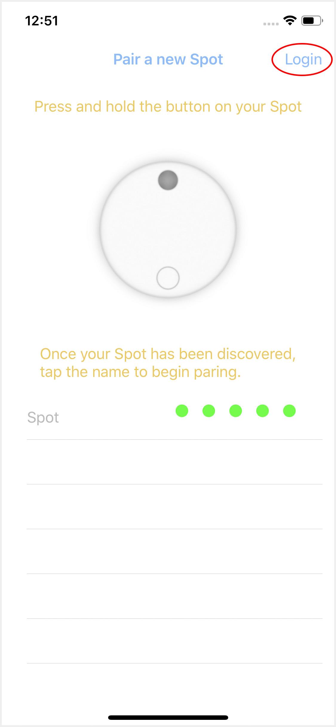 Nearby Beagles App Screen